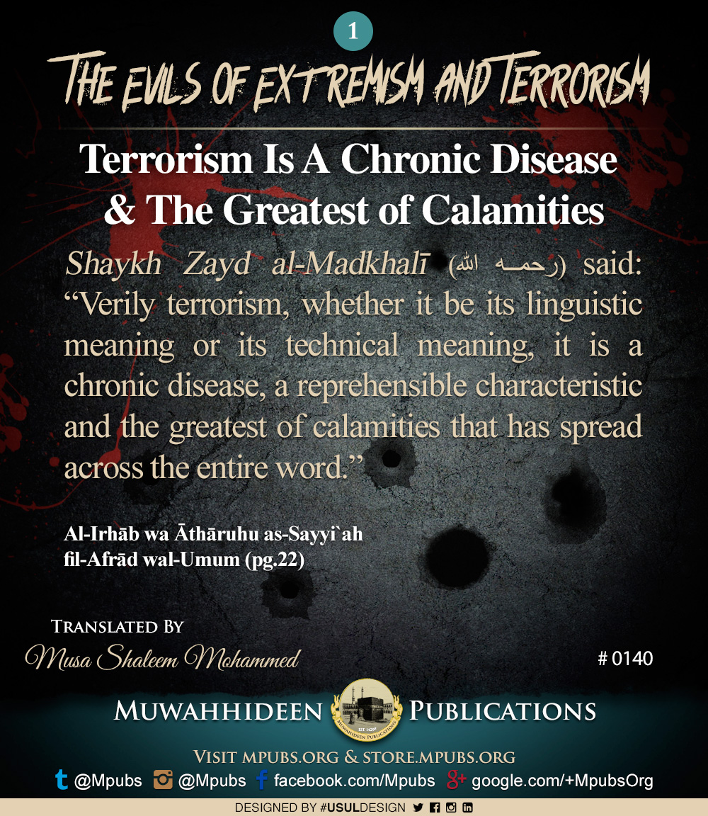 quote0140 evils of extremism and terrorism terrorism is a chronic disease eng