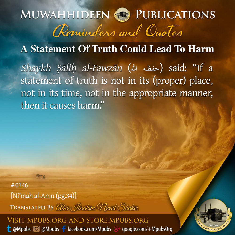 quote0146 a statement of truth could lead to harm eng