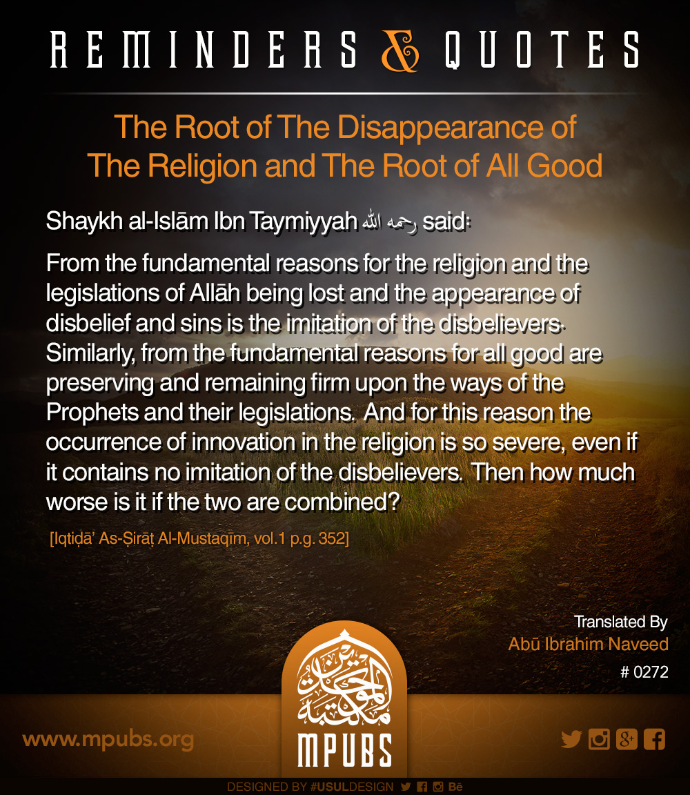quote0272 the origin of the dissappearance of the religion and the origin for all good eng