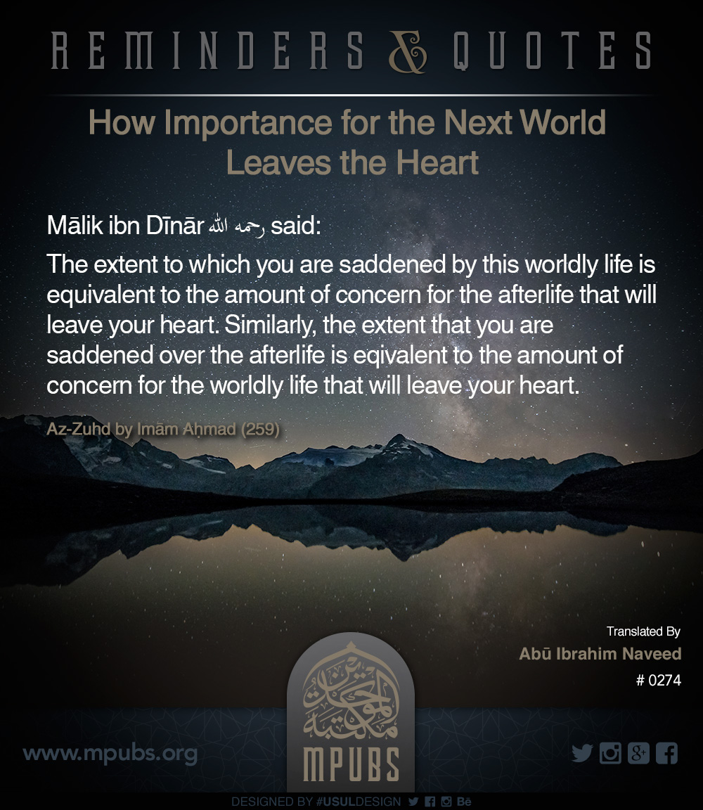 quote0274 how importance for the next world leaves the heart eng