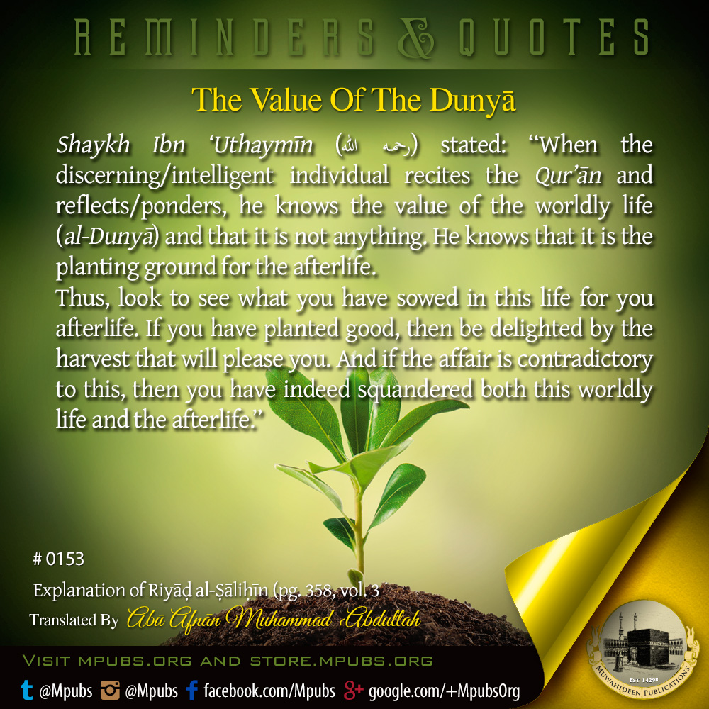 quote0153 the value of the dunya eng