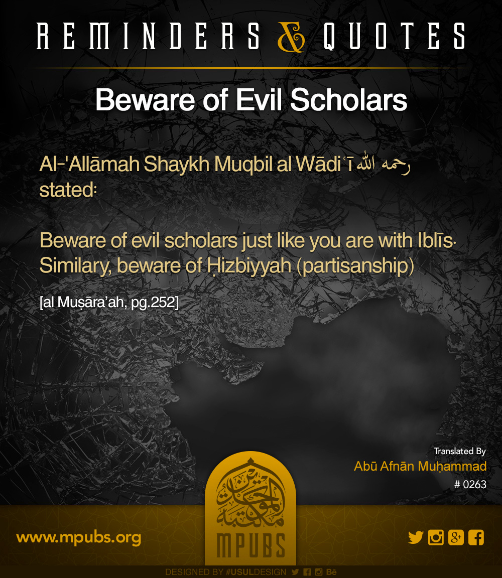 quote0263 beware of evil scholars eng